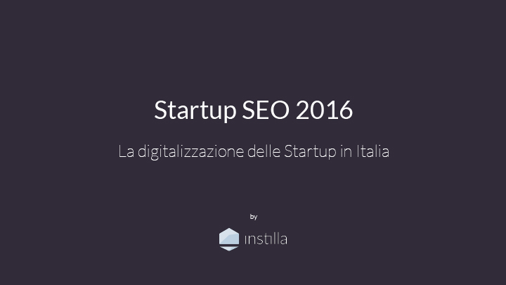 report startup seo 2016