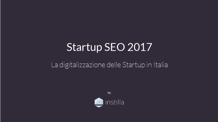 report startup seo 2017